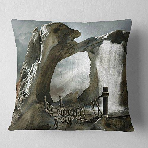 Orren Ellis Distinctive Decorative Square Pillow Cover Insert Polyester Polyester Blend In Blue Size 18 X 18 Wayfair Shefinds
