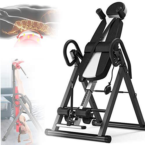 Grist CC Attrezzatura per Il Fitness Panca Ad Inversione, Regolabile Pieghevole Stretching Supporto,A