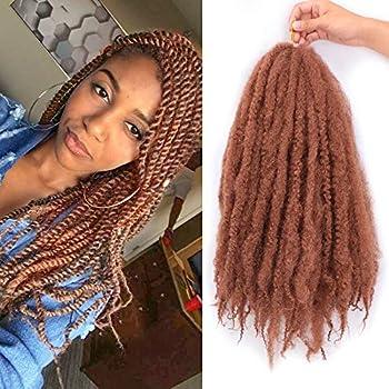 3 Packs Marley Braids Hair Afro Marley Twist Braiding Hair Synthetic Jamaican Twist Braid Hair Extensions #30