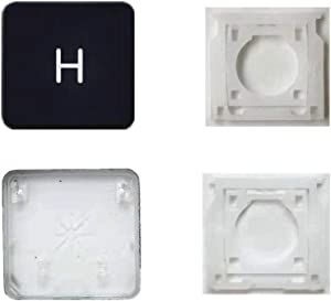 Replacement Individual AP08 Type H Key Cap and Hinges are Applicable for MacBook Pro Model A1425 A1502 A1398 for MacBook Air Model A1369/A1466 A1370/A1465 Keyboard to Replace The H Key Cap and Hinge