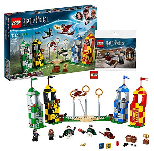 LEGO® Harry Potter – Quidditch Turnier (75956) Bauset (500 Teile) Harry Potter 30407 - Harry's Journey to...