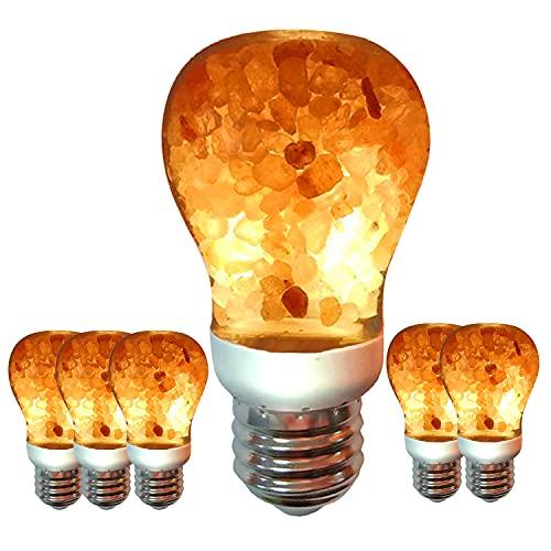 Himalayan Glow Salt Lamp LED Light Bulbs 60-Watt...