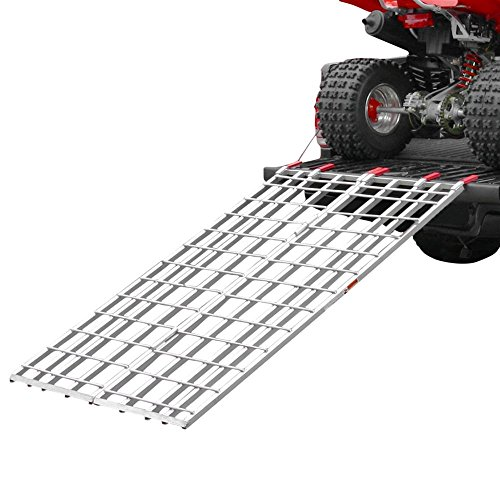 Rage Powersports Black Widow IBF-7144 Aluminum 5' 11' Bi-Fold ATV Ramp
