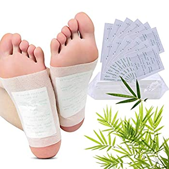 Foot Pads Fanspack 100Pcs Foot Pads Pain Relief Health Care Foot Care Pads with 100Pcs Adhesive Sheets