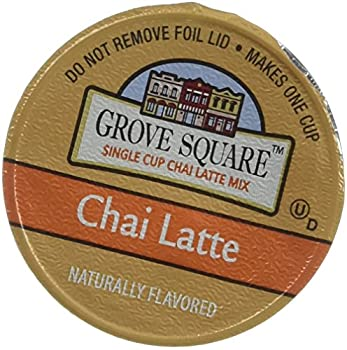 Grove Square Chai Latte 48-count Single Serve Cup for Keurig K-cup Brewers