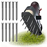 """Ergomind Replacement Spikes for Lawn Aerator Shoes – Pack of 10 – Garden Aerator Spikes Measure 2.4""""x0.2"""" – Stainless-Steel – Heavy-Duty & Durable – Universal Fit for Soil Aerator – Easy to Install"""