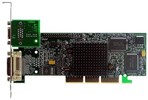 AGP-Grafikkarte Matrox G550 G55+MDHA32DB VGA+DVi ID3058