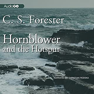Hornblower and the Hotspur audiobook cover art