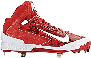 Nike Mens Huarache Camo Pro Mid Metal Baseball Cleats