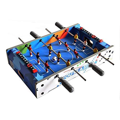 JJZXD Biliardino, Mini Tavolo da Biliardo del Gioco del Calcio dei tavoli Accessori Giochi Competizione Giochi di Sport