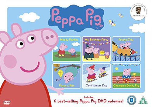 Peppa Pig Selection Box DVD Reino Unido