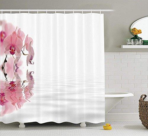 Yeuss Apartment Decor Collection,Blumen im Wasser auf leeren Hintergrund Blüten Blütenblätter...