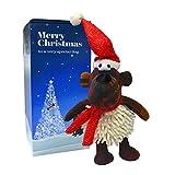 Scarlaroo Juguete de Navidad para perros regalos (Millie) para perros chirriantes regalos para perros