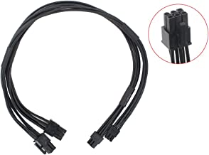 CNCT Mini-pcie 6pin Mac-pro G5 to Pci-Express 6-pin or 8 pin Video Card Power Cable for MAC Pro 6 to 8-2pc