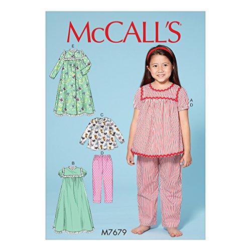 Mccall's Patronen Broek en Robe, Tissue, Multi-Colour, 17 x 0.5 x 0.07 cm