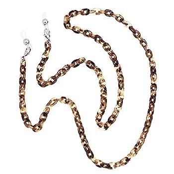 Eyeglass Chain Strap Holder Cord Fashion Sunglasses Chain for Women Men Acrylic Mask Lanyard Chain Face Mask Chain for Adults