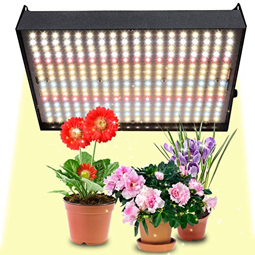 IYMSS LED Grow Light, Sunlike Full Spectrum,Plant Growth Lamp, No Noise, Reflector Plant Lamp Full Spectrum Light Red Blue Lighting for Variety Indoor Plants Growing