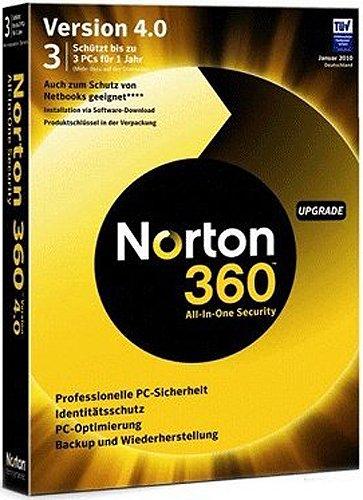 NORTON 360 v4.0 3 Benutzer - Upgrade - deutsch [import allemand]
