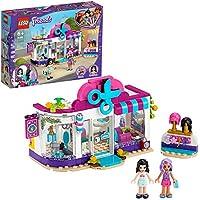 LEGO Friends - Peluquería de Heartlake City, Set de Construcción de Juguete con Accesorios y Pelucas, Incluye Muñecas de Emma y Nina, a Partir de 6 Años (41391)