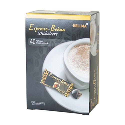 Hellma Espresso-Bohne schokoliert 40 Portionen 1er Pack