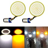 LivTee Extremely Bright Front Turn Signals & Running Switchback LED Lights Panel
