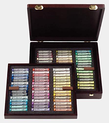 Caja de Madera Pastel Rembrandt Professional 90L Paisaje