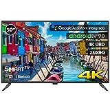 INFINITON INTV-50MA1300 – Televisor Smart TV 50' 4K UHD – Android 9.0 Google – HBBTV – 4X HDMI – 3X USB - DVB-T2/C/S2 - Modo Hotel – Clase A+