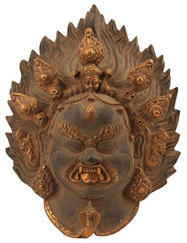Exotic India zbs62tibetisch-buddhistischen Mahakala Wandbehang Maske