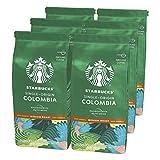 Starbucks Single Origin Colombia Caffè Macinato Dalla Tostatura Media 6 Sacchetti da 200 g