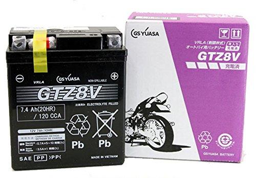 ジャパン GSユアサ バッテリー GTZ8V (GY-C) 液注入充電済み (VRLA 制御弁式) MFメンテナンスフリー