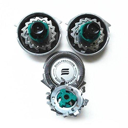 Zhuhaitf Pack of 3 Shaving Blades Shavers Head Cutters Net pour Hommes for Philip RQ1180 RQ1160CC RQ1180CC RQ1131 RQ1160X RQ1168 RQ1180X RQ1141