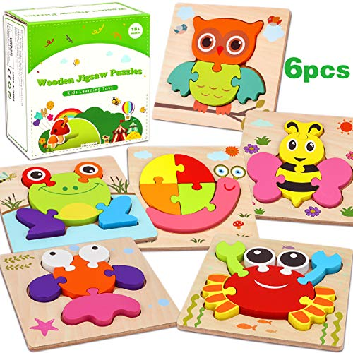Wooden Puzzles for Toddlers 1...