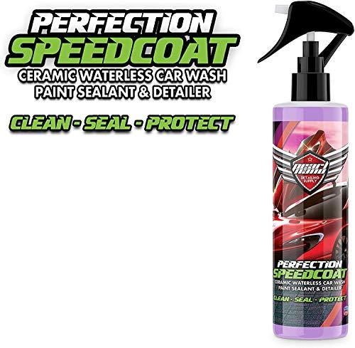 Pearl Nano Speedcoat **Keine zusätzliche Farbstoff** 250 ml erstaunlicher Shine, Armor ähnlicher Schutz, Keramik-Spray-Beschichtung, wasserloser Autowasch-Wasserabweisender...