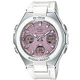[カシオ] 腕時計 ベビージー G-MS 電波ソーラー MSG-W100-7A3JF レディース ホワイト