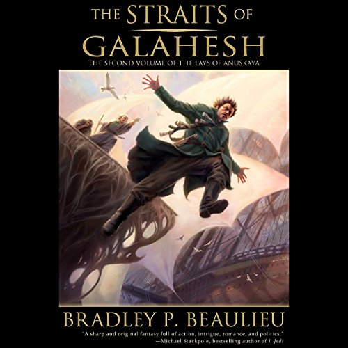 The Straits of Galahesh audiobook cover art