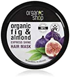 Organic Shop - Maschera per capelli Express Shine Fig e Mandorla, 250 ml