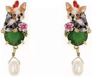 Pendientes esmalte Chihuahuas