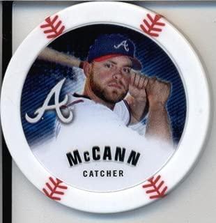 2013 Topps Chipz Baseball Poker Chip - Brian McCann
