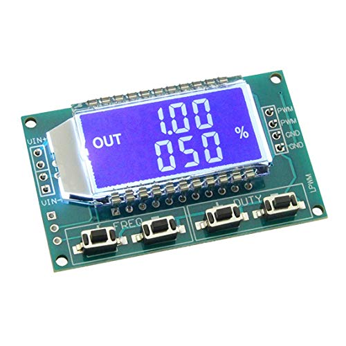 FangWWW PWM Pulse Generator Frequency Duty Cycle Adjustable Module Square Wave Signal