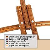 Ampel 24 Outdoor Hängemattengestell 316 cm, Holz Lärche wetterfest, Gestell Malaysia braun ohne Hängematte - 3