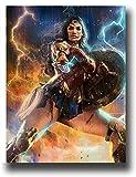SSKJTC - Quadro da parete 'Wonder Woman' con immagine astratta, motivo 'Wonder Woman', 50,8 x 71,1 cm