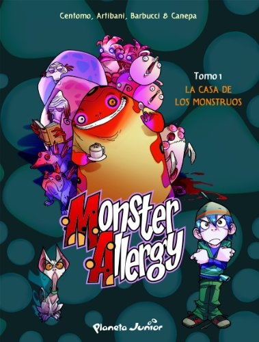 La casa de los monstruos: Monster Allergy. Cómic 1