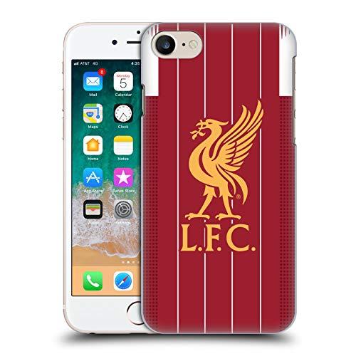Offizielle Liverpool Football Club Home 2019/20 Kit Harte Rueckseiten Handyhülle Hülle Huelle kompatibel mit Apple iPhone 7 / iPhone 8 / iPhone SE 2020