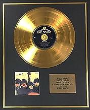 The Beatles – Disco de oro de 24 quilates exclusivo de edición limitada – Beatles para venta