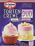 Tortencreme Duo Vanilleg.-Erdbeerg. -