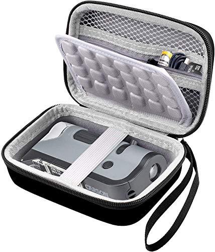 COMECASE Travel Hard Case Tasche for HP Sprocket Portable Fotodrucker/Polaroid Zip Mobildrucker