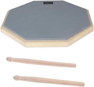 H HILABEE ドラム練習グッズ 練習パッド ドラムロッド マレット 消音トレーニングツール