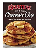 Krusteaz Light & Fluffy Complete Pancake Mix, Chocolate Chip - No Artificial Flavors, Colors or...