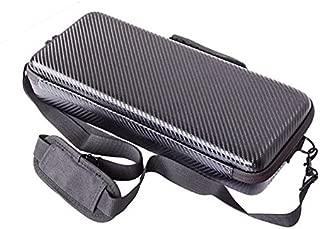 Honbobo ZHIYUN Smooth 4用 保護ケース バッグ EVA/PUレザーハードケースショルダーストラップ付 大容量 収納ケース防水、耐衝撃、外出撮影、旅行やホームストレージにお勧 (PUレザー)