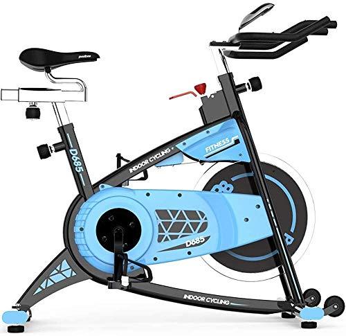 XUSHEN-HU Bicicleta Estática - Equipo aerobio - Upright Ciclismo Indoor Trainer máquina de Hilado del Volante de sesión de Cardio con Total garantía??? Interior